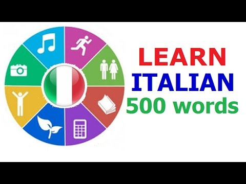 Learn Italian (Vocabulary)