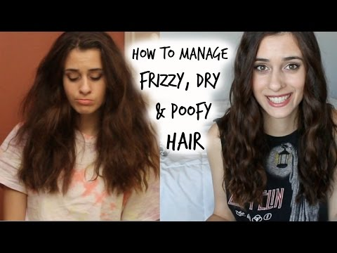 How to Manage Curly, Frizzy & Poofy Hair | My Hair Care Routine from YouTube · Duration:  3 minutes 10 seconds