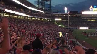 Chris Stapleton @ Turner Field - Braves Postgame Concert Series 5/30/16