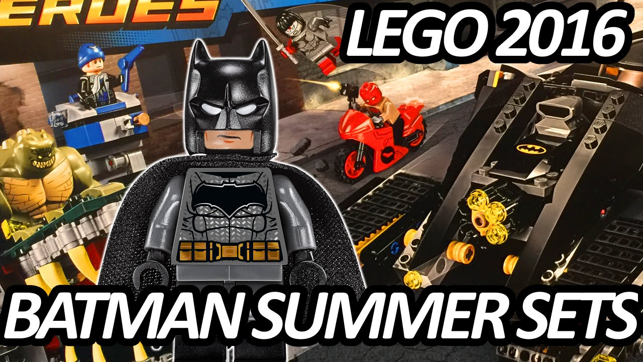 LEGO DC Comics Batman Summer 2016 Sets Pictures from New ...