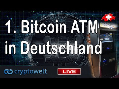 1. Bitcoin Automat In Deutschland / News Bitcoin - Blockchain Und Co.