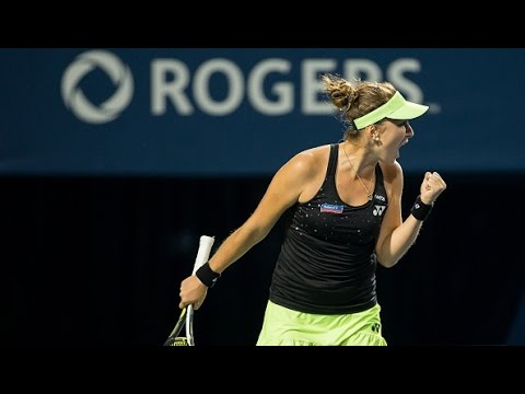 2015 Rogers Cup Semifinals WTA Highlights
