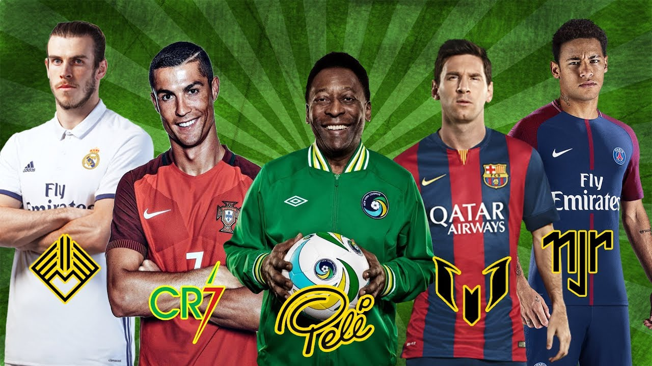 The most famous football players of the world 47