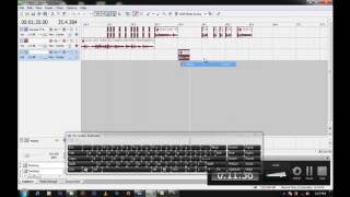TUTORIAL SONY ACID & VEGAS AUDIO MIXING BEAT MATCHING  BY DEEJAY CLEF