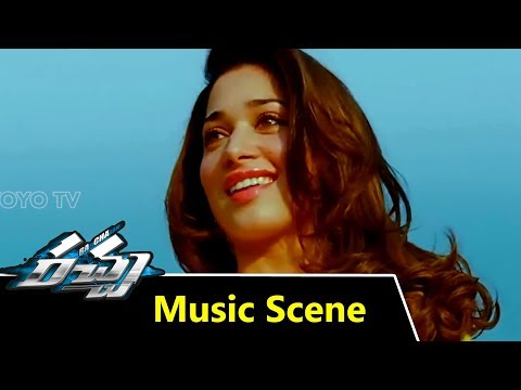 Racha Movie Background Music Scenes  Ram Charan Tej  Tamannah  YOYO Cine Talkies