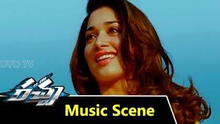 Racha movie background music scenes | ram charan tej | tamannah | yoyo cine talkies
