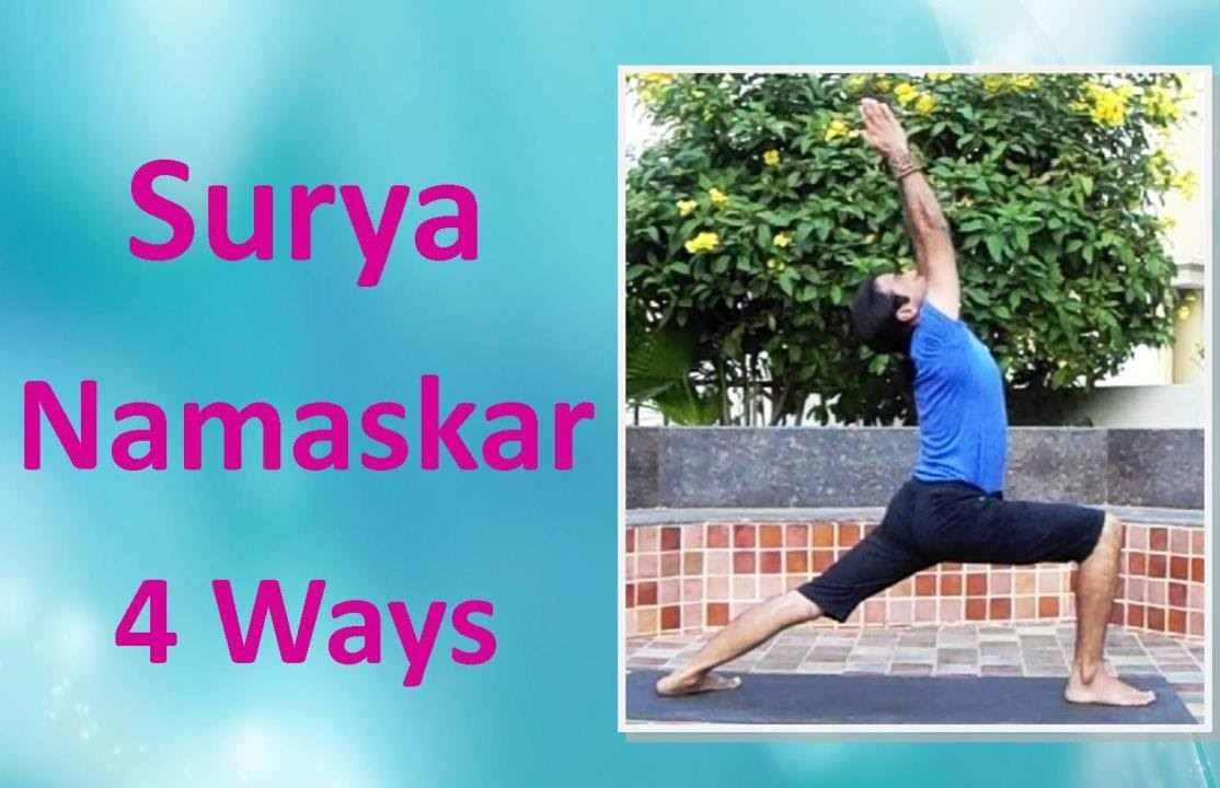 Surya namaskar sun salutation 4 ways youtube surya namaskar sun salutation 4 ways vashistha yoga kristyandbryce Images