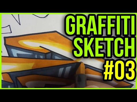 ⚫️#03 Graffiti Blackbook Sketch ⚫️TeeM1