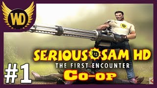 [1]Let's Play Serious Sam HD: The First Encounter [Co-op] - Part 1