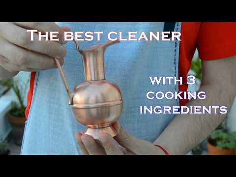 How to clean copper bronze EASY AND QUICK