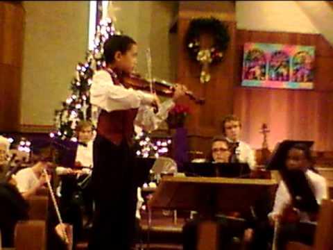 Czardas Amazing Violinist Nathaniel