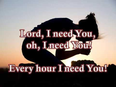 Lord I Need You By Matt Maher W Lyrics English Youtube
