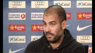 Pep Guardiola responde a Pepe Gutierrez