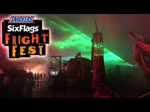 Info Vlog Your Guide To Fright Fest 2017 Six Flags Fiesta Texas