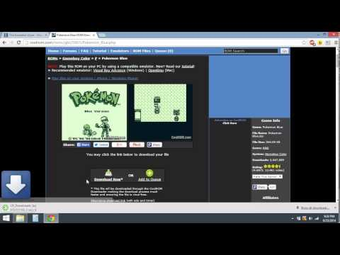 How To Get GBC Game Boy Color Emulator & ROM On PC Windows 8 (*Updated Rom)