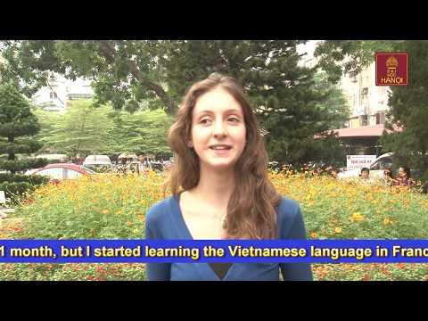 Sinh Viên nước ngoài nói về trường Đại học Hà Nội