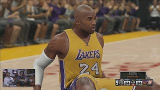 NBA 2K16 Full 4 Quarters Gameplay 5v5 Lakers vs Raptors