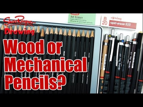 Wood or Mechanical Pencils - which pencils should you use?
