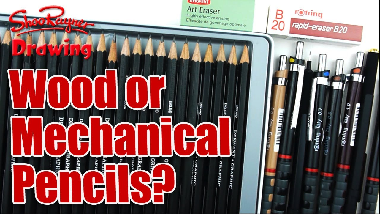 Wood Or Mechanical Pencils Which Pencils Should You Use
