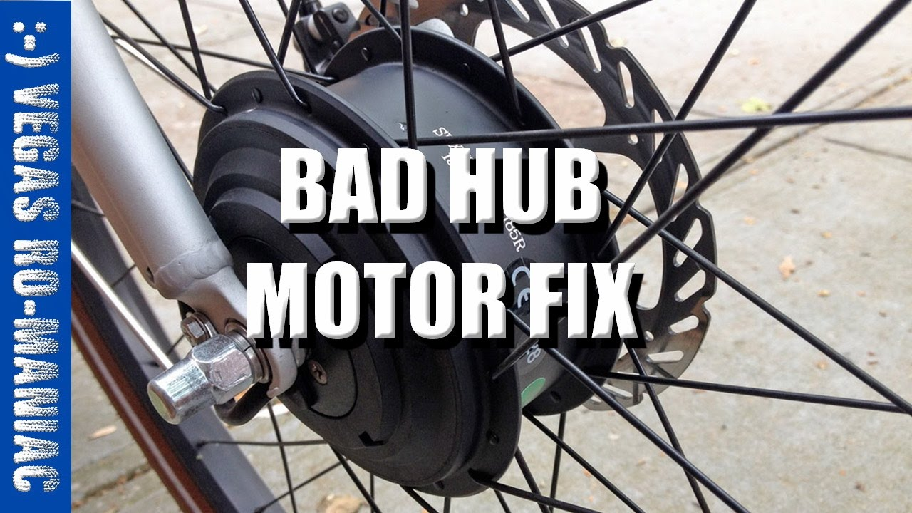hight resolution of ancheer electric bicycle hub motor problem fix aka eshion rh youtube com