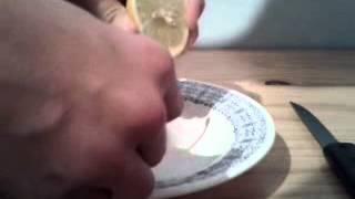 Se débarasser d'un aphte - Astuce avec du citron
