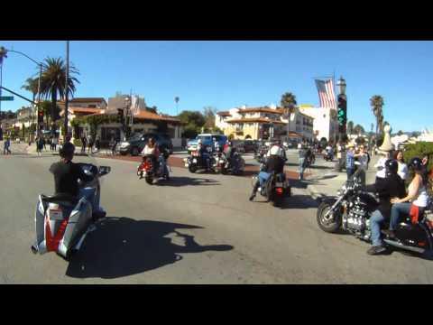 101212 2of3 2010 Santa Barbara m/c Toy run Montecito to SB State Street