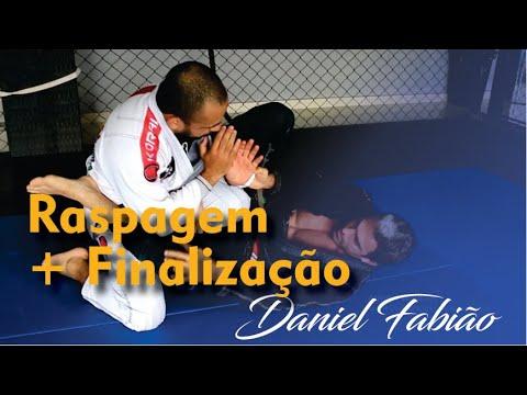 Raspagem + Finalização - Daniel Fabião - Jiu Jitsu - BJJCLUB