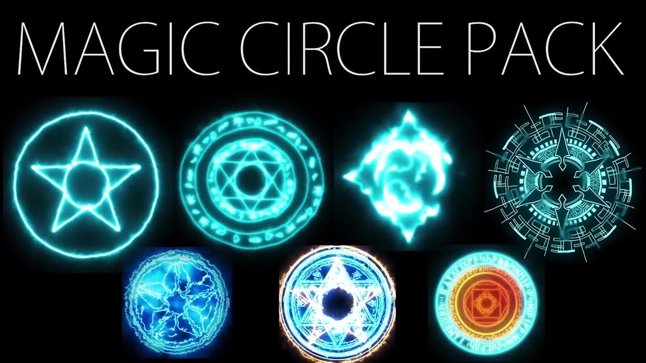 Free Hd Effects Magic Circle Pack Youtube