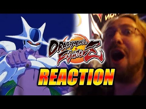 MAX/EVO REACTS: Cooler Revealed  DragonBall FighterZ