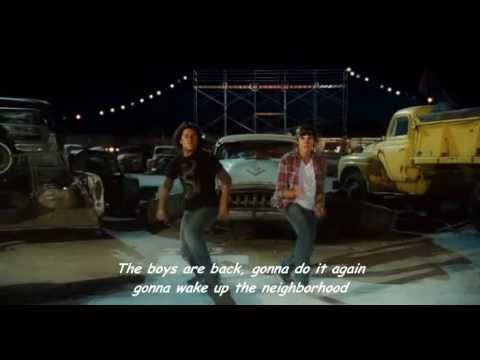 High School Musical 3: Senior Year - The Boys Are Back - Karaoke ITALIANO