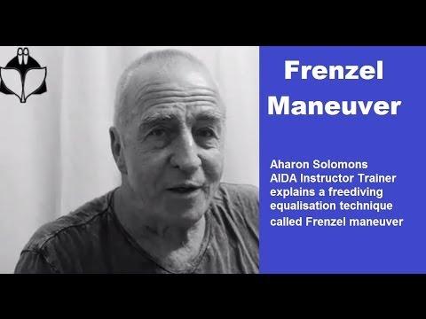 Aharon Solomons explains freediving equalization - Frenzel maneuver