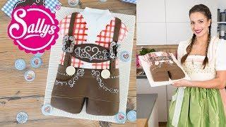 Lederhose Torte / Motivtorte / Oktoberfest / Geburtstagstorte