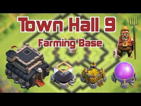 Best Farming Army Th9