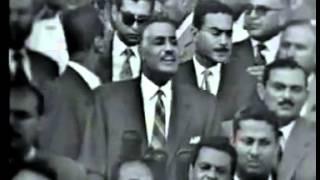 فيديو نادر لخطاب الرئيس جمال عبد الناصر لطلاب جامعة القاهرة 1961 - كامل