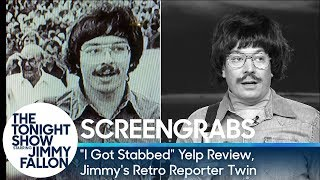 "Screengrabs: ""I Got Stabbed"" Yelp Review, Jimmy"
