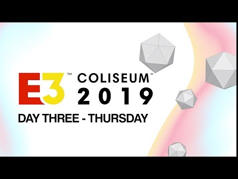 E3 Coliseum 2019 Day 3: Thursday with Justin Roiland, The Outer Worlds And More