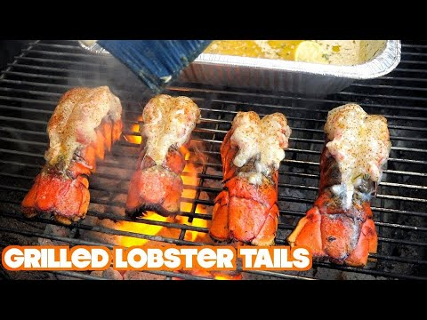 Grilled Lobster Tail Recipe with Garlic Butter (2018) thumbnail