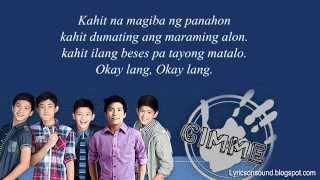 Gimme 5- 'Pag Kasama Ka Lyrics