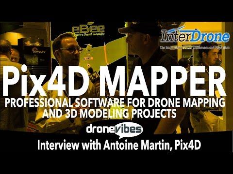 Pix4D Mapper & New Pix4D Mapper Mesh – Professional Applications for