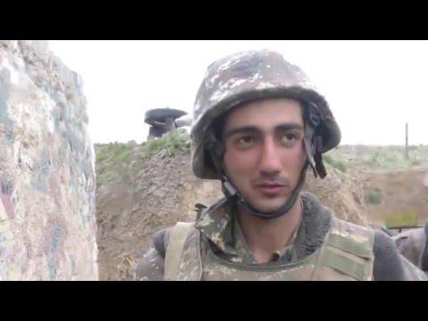 Карабах война.Армянский  солдат сбил азербайджанский вертолет.