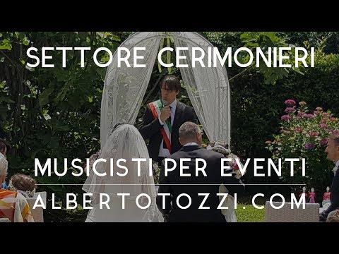 Cerimoniere Matrimonio Simbolico Roma : Cerimoniere celebrante matrimonio roma youtube