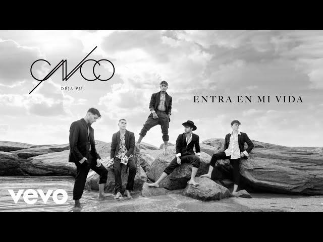 CNCO - Entra en Mi Vida (Audio)