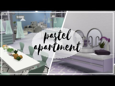 Pastelowy Apartament - The Sims 4 Speed Build: Apartamenty