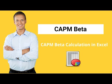 CAPM Beta - Definition, Formula, Calculate Beta in Excel