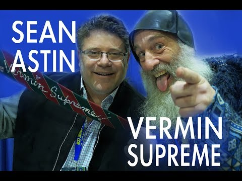Sean Astin talks LOTR remake and Anarchy with Vermin Supreme!