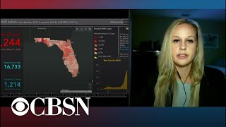 Fired Florida data scientist speaks out as COVID-19 cases spike