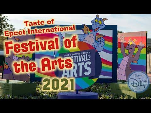 Epcot Festival of the Arts 2021