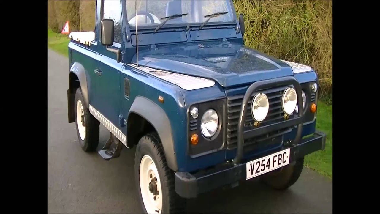 Land Rover Defender 90 Td5 Pickup 1999 Youtube Pick Up
