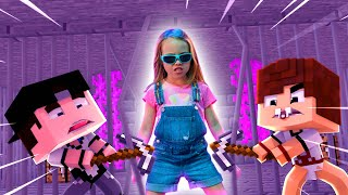 SALVAMOS A GUPPY (FILHA DO SHARKBOY & LAVAGIRL) - MINECRAFT