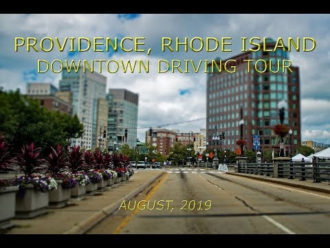 Providence, Rhode Island: Downtown Driving Tour (August, 2019)